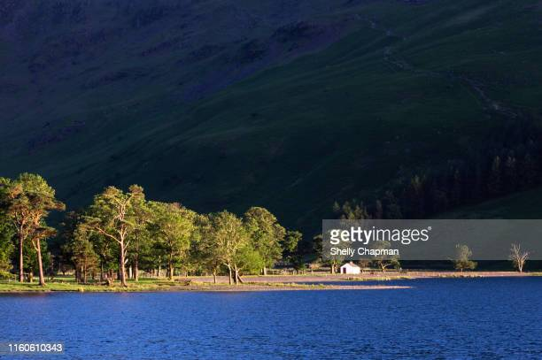 buttermere lake, cumbria - international landmark stock pictures, royalty-free photos & images