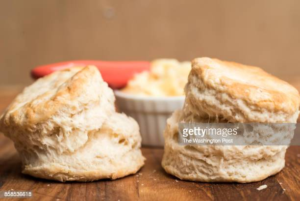Buttermilk Biscuits With Double Ginger Butter
