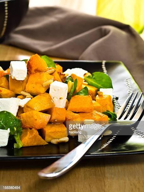 Moschus-Kürbis & feta-Salat