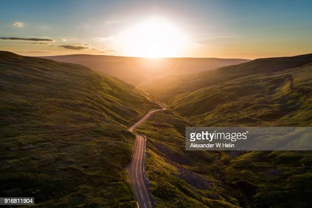 buttertubs pass - horizon stockfoto's en -beelden