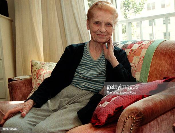 Butterworth St NW DC Brief Description 93 year old retiree Photo of Goldia Shaw age 93 who recently retired as a researcher and fact checker Photo By...