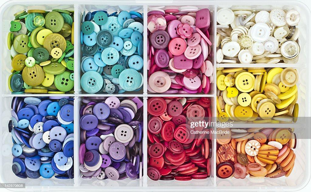 Button box : Stock Photo