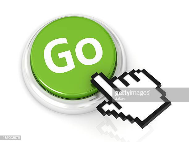 button go - cursor stock pictures, royalty-free photos & images