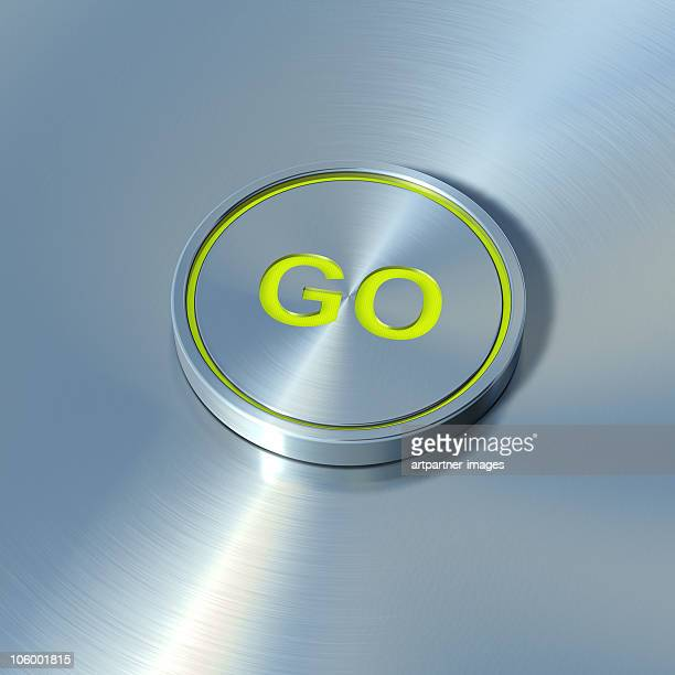 GO Button made of Steel