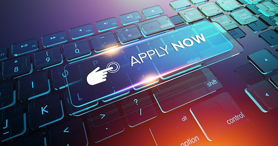 APPLY NOW Button on Computer Keyboard 1146311268