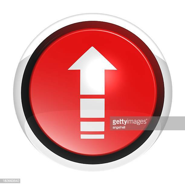button serie - arrow rup - following arrows stock pictures, royalty-free photos & images
