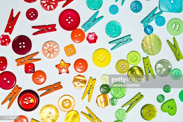 Buttons and pegs
