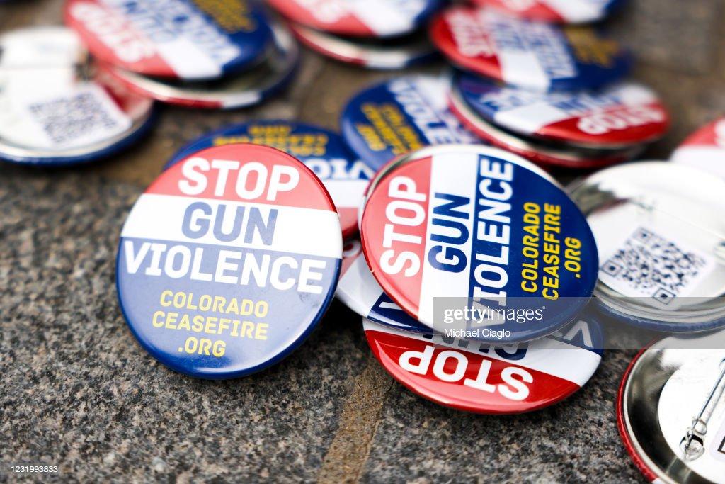Activists Rally At Colorado Capitol For Increased Gun Control Measures : News Photo