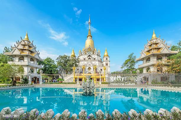 Buu Long Buddhist pagoda, Ho Chi Minh, Vietnam
