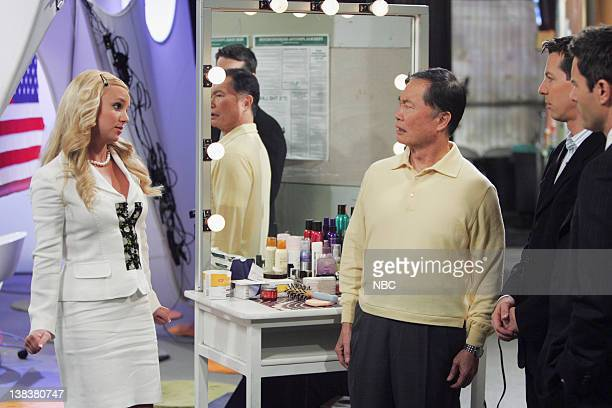 WILL GRACE Buy Buy Baby Episode 18 Aired Pictured Britney Spears as AmberLouise George Takei as himself Sean Hayes as Jack McFarland Eric McCormack...