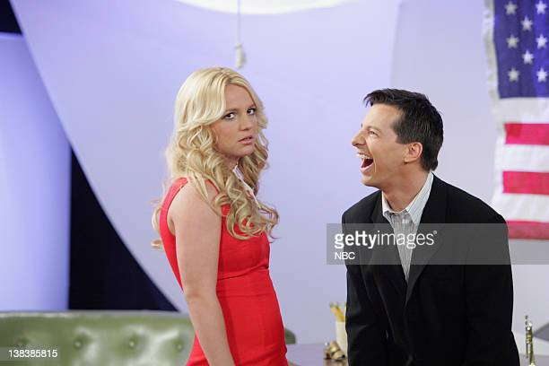 WILL GRACE Buy Buy Baby Episode 18 Aired Pictured Britney Spears as AmberLouise Sean Hayes as Jack McFarland