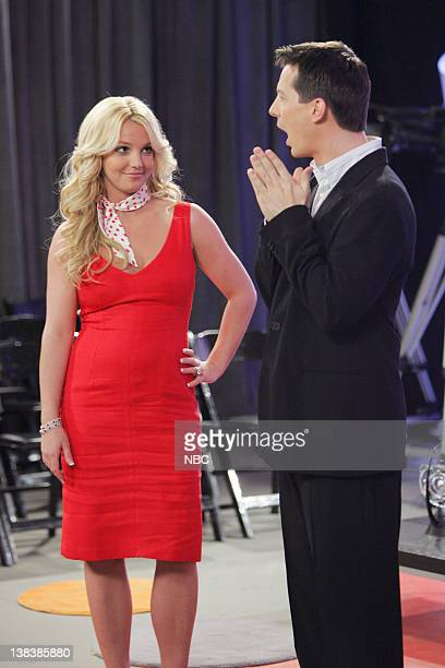 WILL GRACE 'Buy Buy Baby' Episode 18 Aired Pictured Britney Spears as AmberLouise Sean Hayes as Jack McFarland