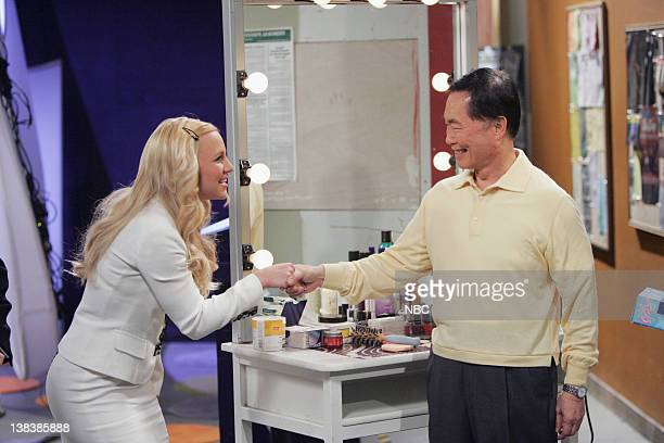 WILL GRACE Buy Buy Baby Episode 18 Aired Pictured Britney Spears as AmberLouise George Takei as himself
