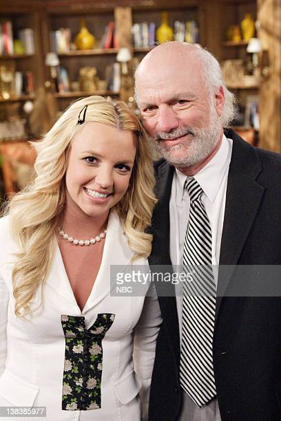 WILL GRACE Buy Buy Baby Episode 18 Aired Pictured Britney Spears as AmberLouise Producer James Burrows