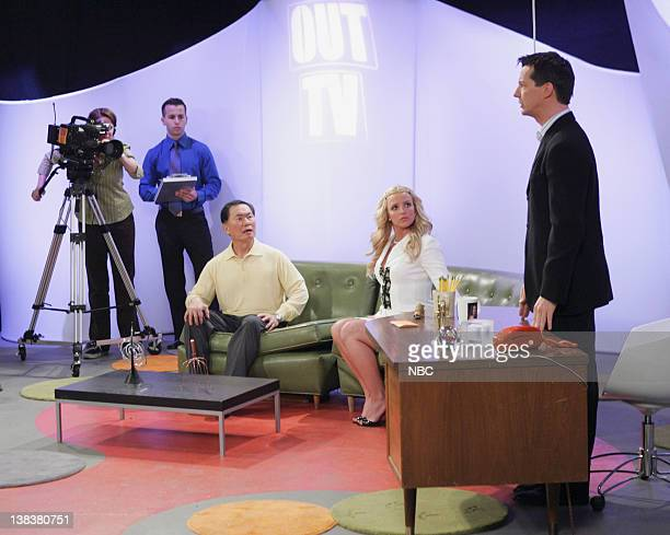 WILL GRACE Buy Buy Baby Episode 18 Aired Pictured Matt Crabtree as Stage Manager George Takei as himself Britney Spears as AmberLouise Sean Hayes as...