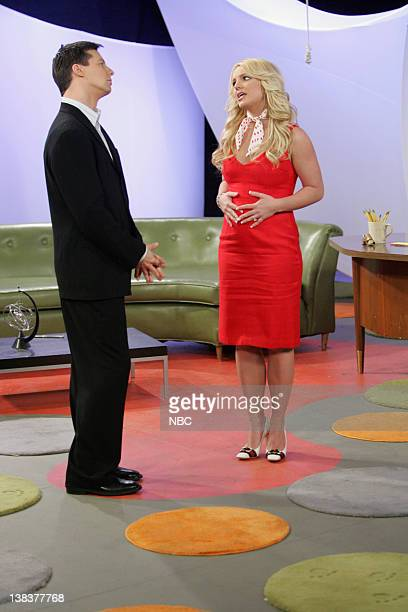WILL GRACE Buy Buy Baby Episode 18 Aired Pictured Sean Hayes as Jack McFarland Britney Spears as AmberLouise