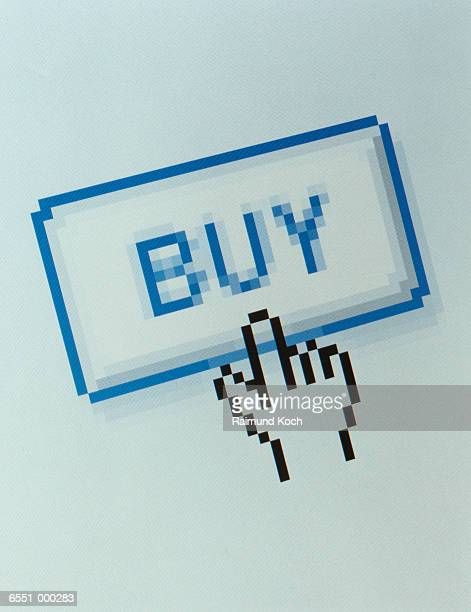 Buy Icon on Website Page