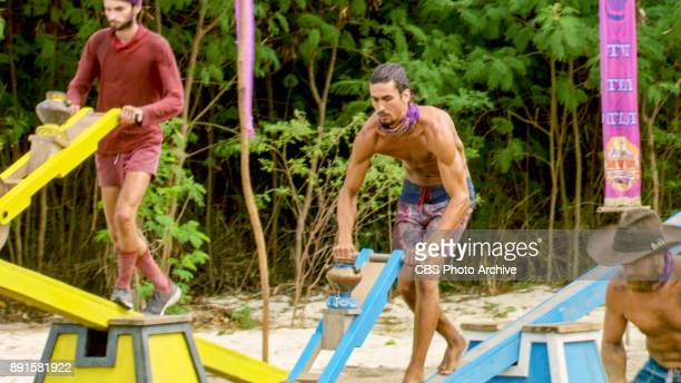 'Buy One Get One Free' Ryan Ulrich and Devon Pinto on the tenth episode of SURVIVOR 35 themed Heroes vs Healers vs Hustlers airing Wednesday November...
