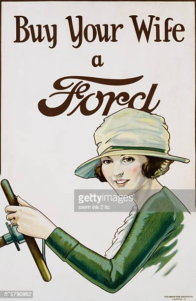 Buy Your Wife a Ford Advertising Poster by Butler