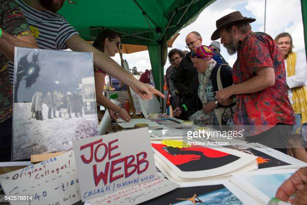 Buyers queued up for 4 hours to grab a bargain at the 2017 Art Car Boot Fair Folkestone Kent