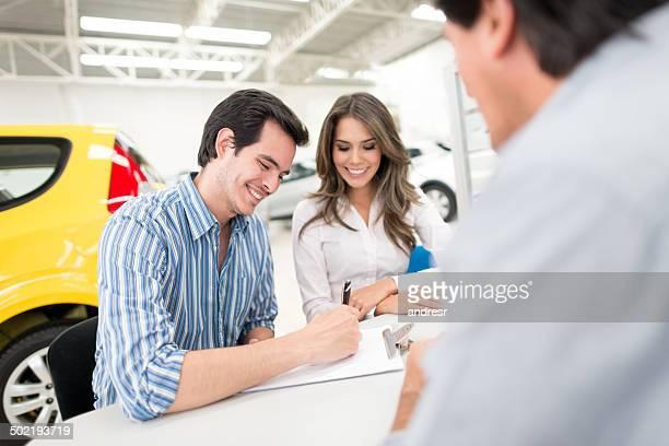 Kauf eines neuen Autos