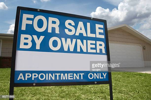 buying a new home - real estate sign stock pictures, royalty-free photos & images