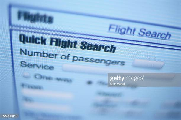 Buying an Airplane Ticket on the Internet