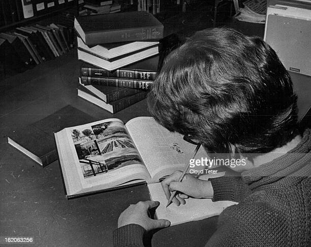 FEB 17 1966 MAR 6 1966 Buying an encyclopedia is not a small matter Experts suggest prospective buyers research as many of the encyclopedia as...