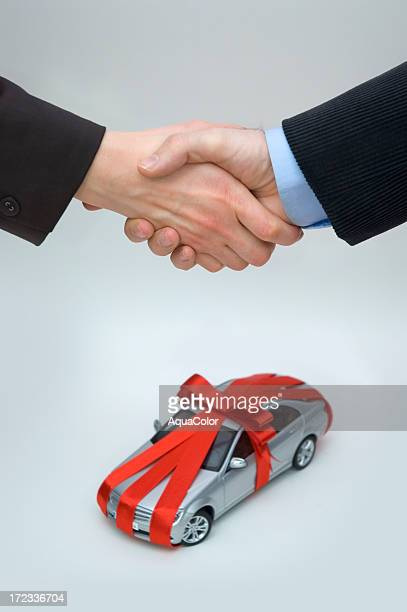 Buying Brand New Car Concept