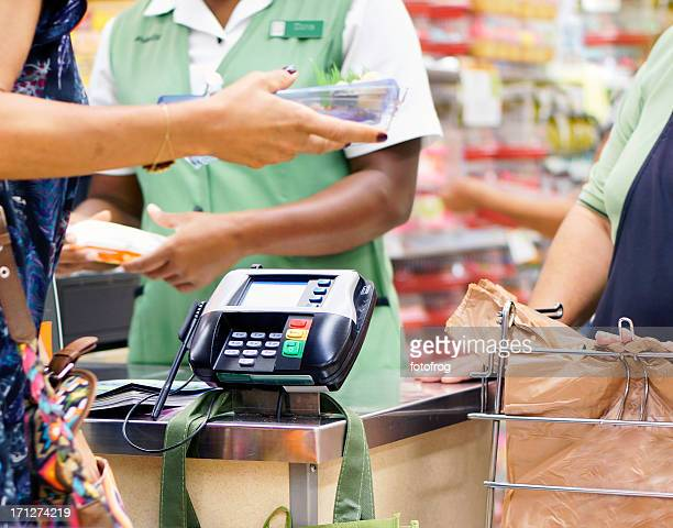 buying food - convenience store counter stock photos and pictures