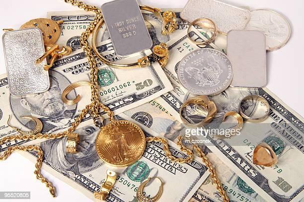 Kauf von gold und Silber