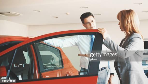 Buying new car.
