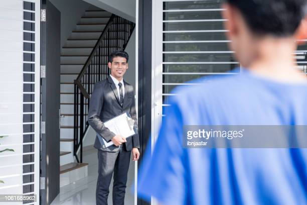 buying new house - ibnjaafar stock photos and pictures