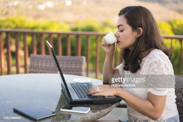 buying on the internet - log on stock photos and pictures