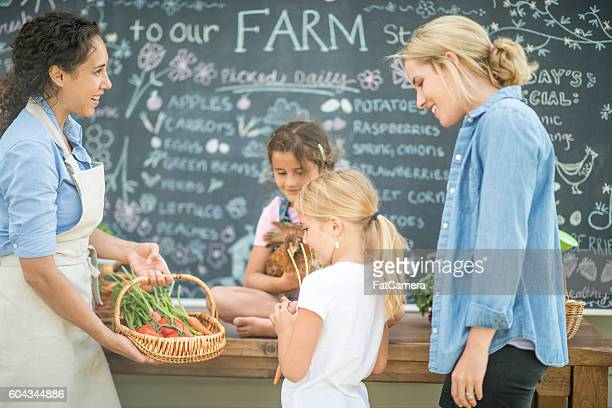 Buying Produce at the Farmer's Market