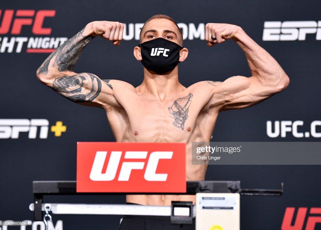UFC Fight Night: Brunson v Holland Weigh-in : Nieuwsfoto's