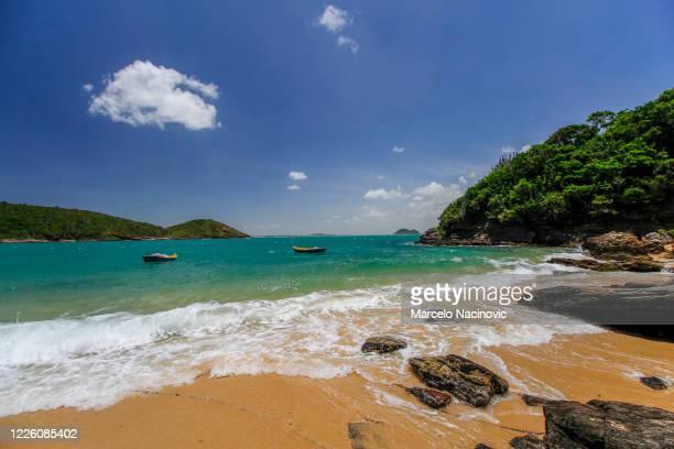 buzios, joao fernandinho beach - marcelo nacinovic stock pictures, royalty-free photos & images