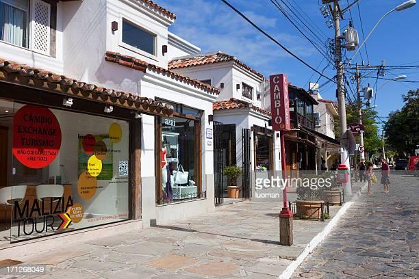 buzios main street - rua das pedras - boulder county stock pictures, royalty-free photos & images
