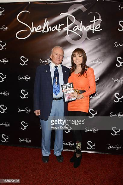 Buzz Aldrin and Dr Ava Cadell attend the Dr Ava Cadell's Sizzling Sexy Summer of 2013 Seminar at Shekhar Rahate Haute Couture Showroom on May 16 2013...