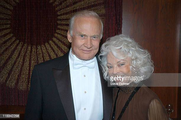 Buzz Aldrin and wife Lois Aldrin during Jr Philharmonic Orchestra 68th Anniversary Concert Spectacular at Dorothy Chandler Pavilion in Los Angeles...