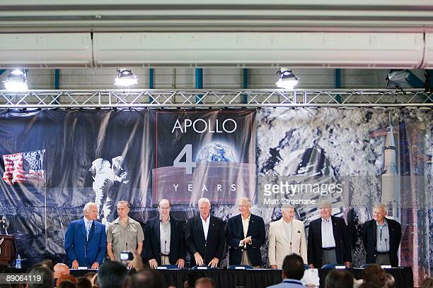 Buzz Aldrin Apollo 11 astronaut Walt Cunningham Apollo 7 Edgar Mitchell Apollo 14 Al Worden Apollo 15 Charlie Duke Apollo 16 Jerry Carr Apollo 8 12...