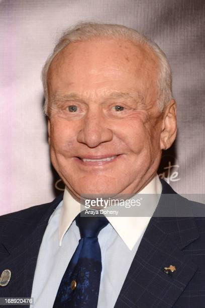 Buzz Aldrin attends the Dr Ava Cadell's Sizzling Sexy Summer of 2013 Seminar at Shekhar Rahate Haute Couture Showroom on May 16 2013 in West...