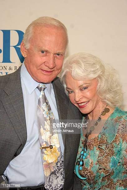 Buzz and Lois Aldrin during An Evening With Ted Koppel at Museum of Television and Radio in Beverly Hills CA United States
