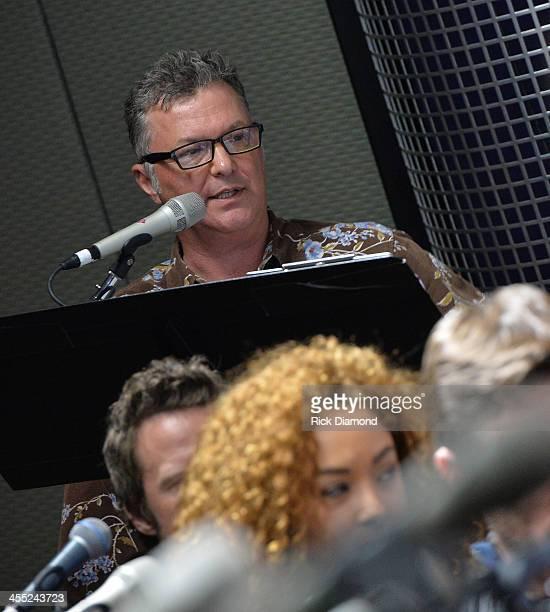 Buzz Brainard OnAir personality The Highway on SiriusXM 59 hosts SiriusXM The Highway The Music of 'Nashville' Season 1 Vol 1 at the SiriusXM Music...