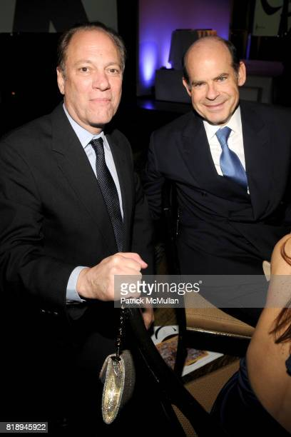 Buzz Hartshorn and Jeffrey Rosen attend INTERNATIONAL CENTER OF PHOTOGRAPHY's 25th Annual INFINITY AWARDS at Pier 60 on May 10th 2010 in New York City
