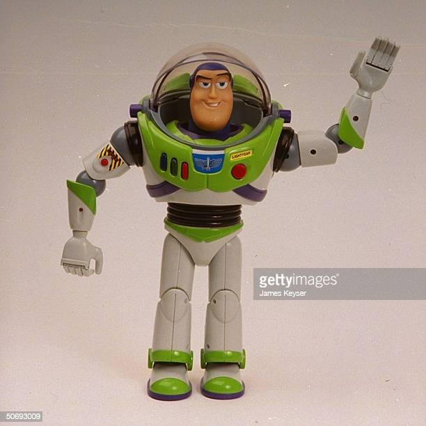 Buzz Lightyear action figure from 1995 Disney movie Toy Story