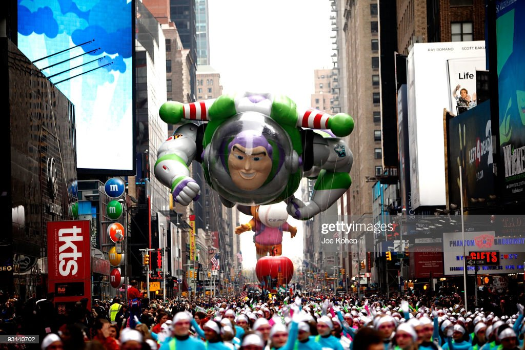 83rd Annual Macy's Thanksgiving Day Parade : News Photo