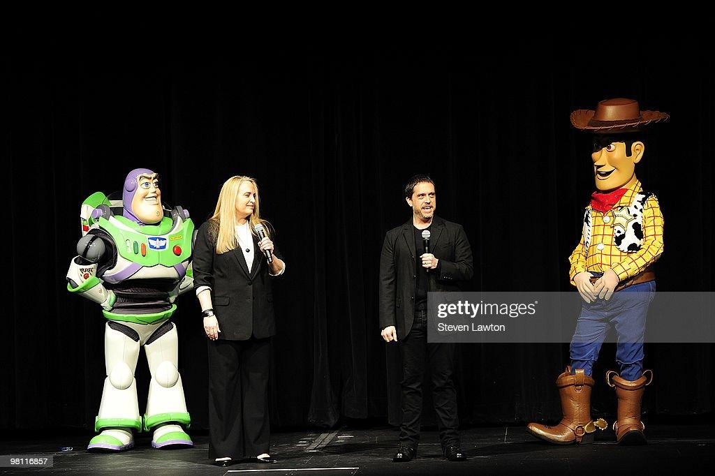 A Buzz Lightyear Character Producer Darla K Anderson Director Lee Unkrich