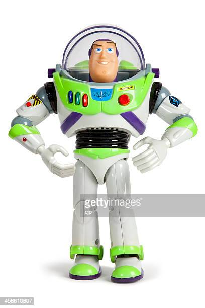 buzz lightyear space ranger toy story - toy story stock photos and pictures
