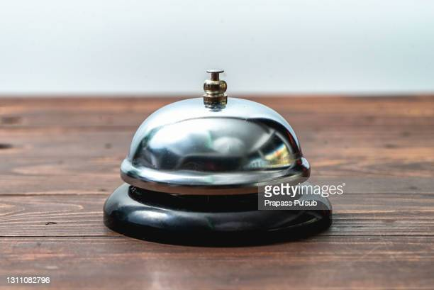 buzzer on the table - bell stock pictures, royalty-free photos & images